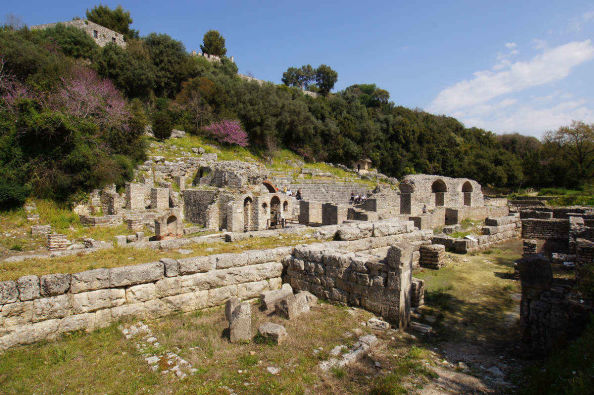 Ancient ruins in Butrint