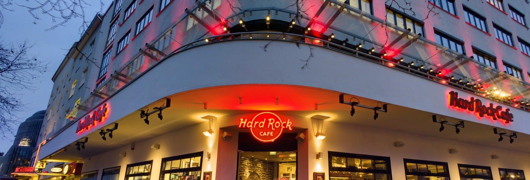 Pranzo o cena all'Hard Rock Cafe Berlino