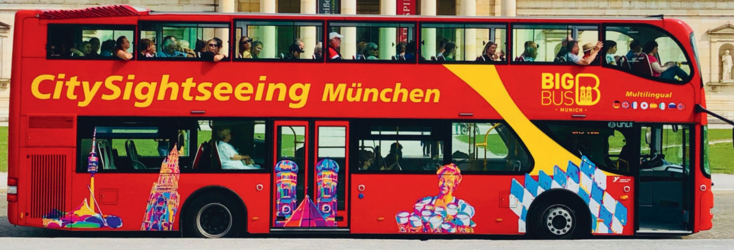 Munich Hop On Hop Off Bus Tour