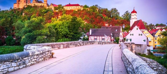 Excursión al castillo de Harburg y Rotemburgo