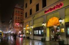 Comida o cena en el Hard Rock Cafe Múnich