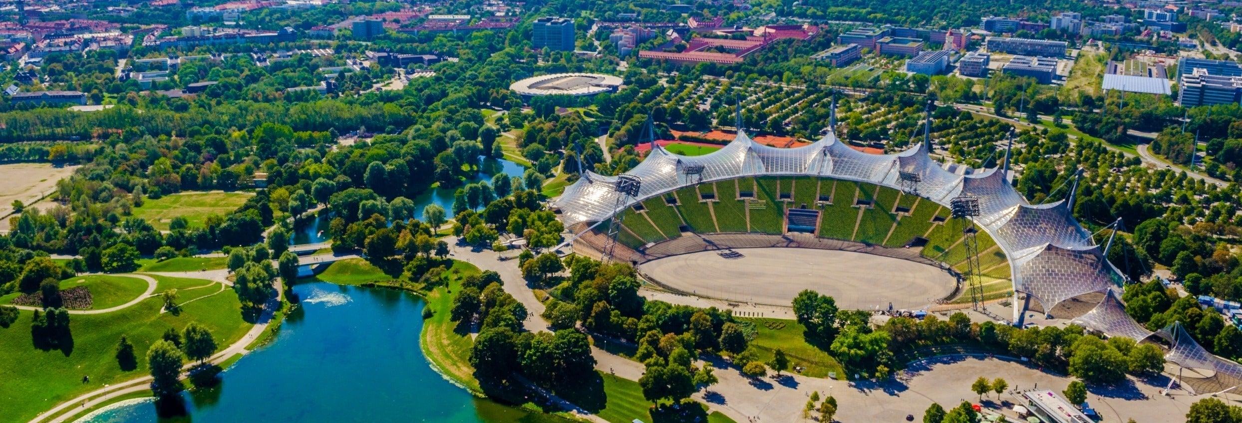 Visita guiada por el Olympiapark y el Jardín Inglés