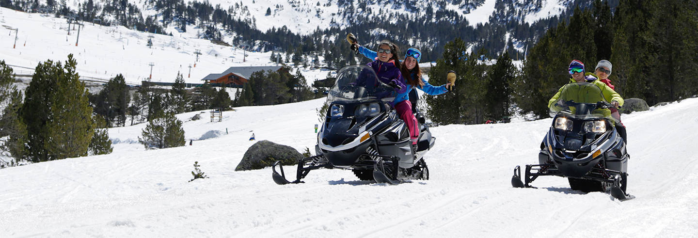 Grandvalira Snowmobile Ride