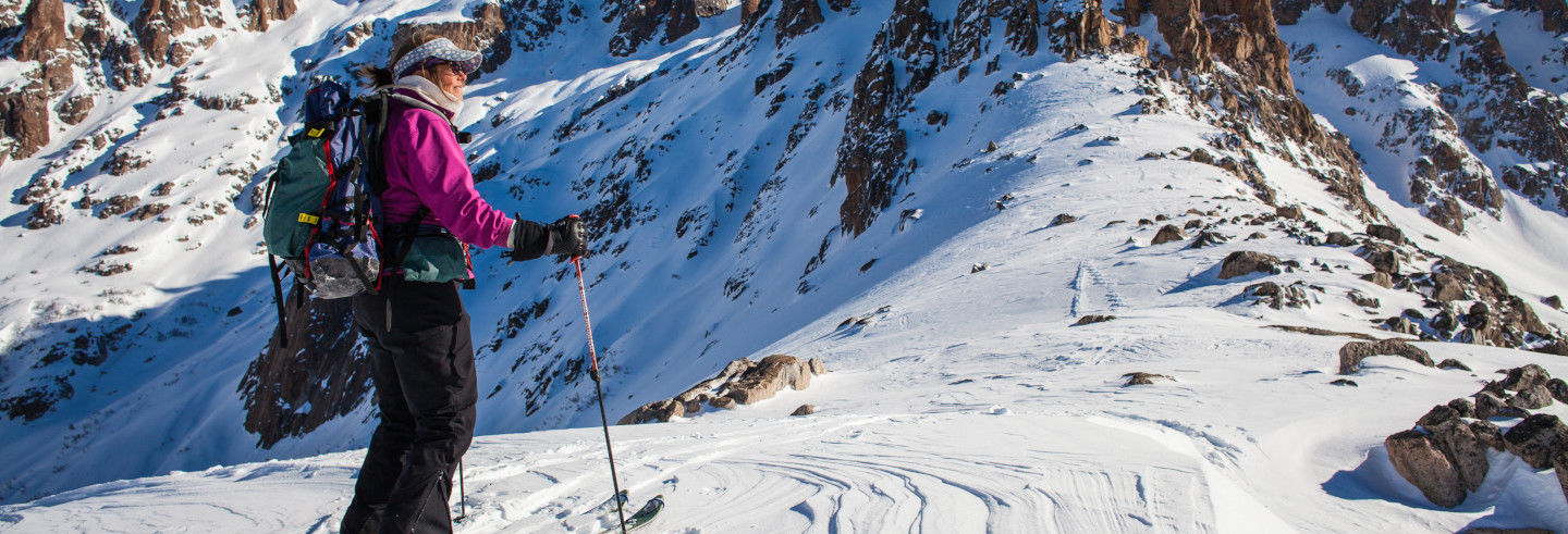 Ski Class on Cerro Catedral