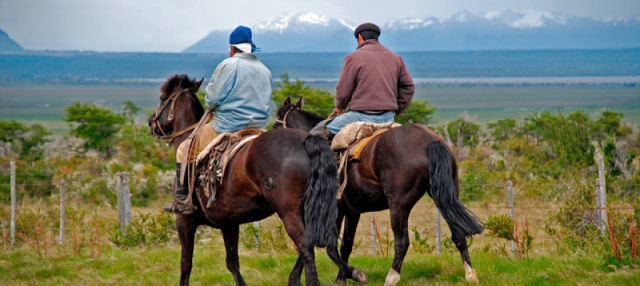 Excursión a caballo por la Patagonia