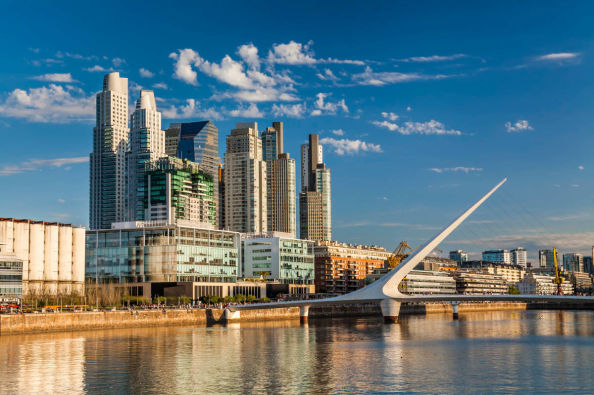 Puerto Madero, à Buenos Aires