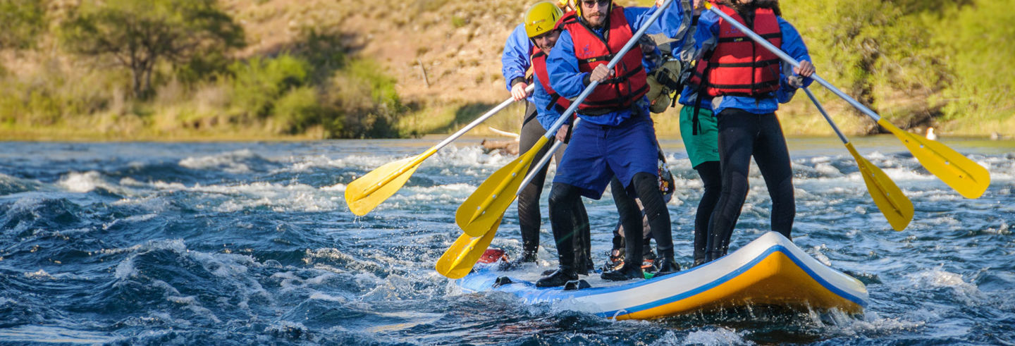 Stand Up Rafting Trip