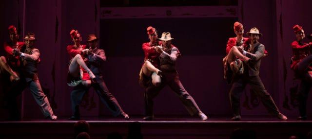 Espetáculo de tango no Café de los Angelitos