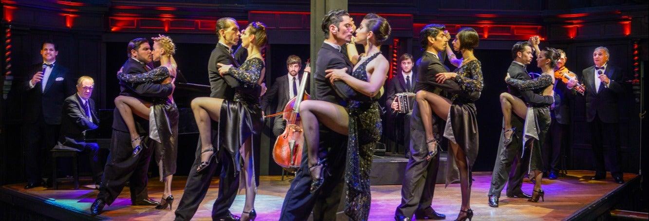 Spettacolo di tango e cena a El Querandi