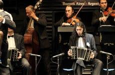 Espetáculo de tango em La Ventana