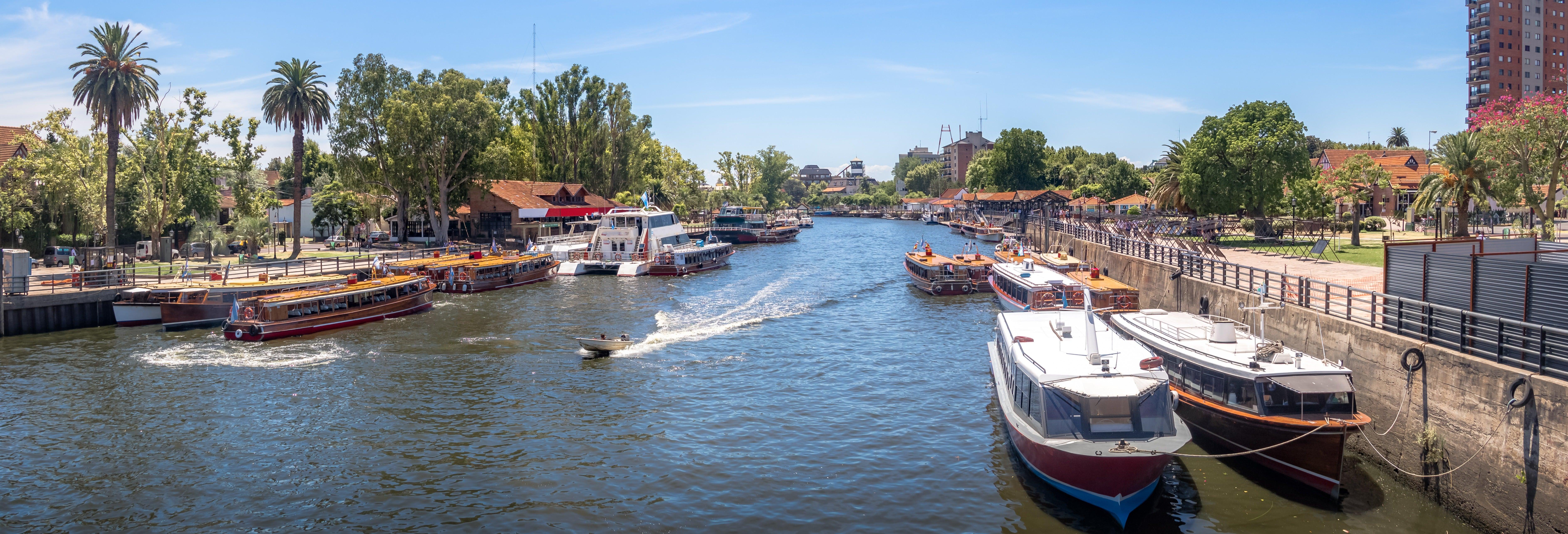 Excursão a Tigre de barco