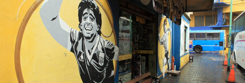 Tour di Diego Armando Maradona