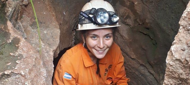 Espeleología en las cavernas de El Sauce
