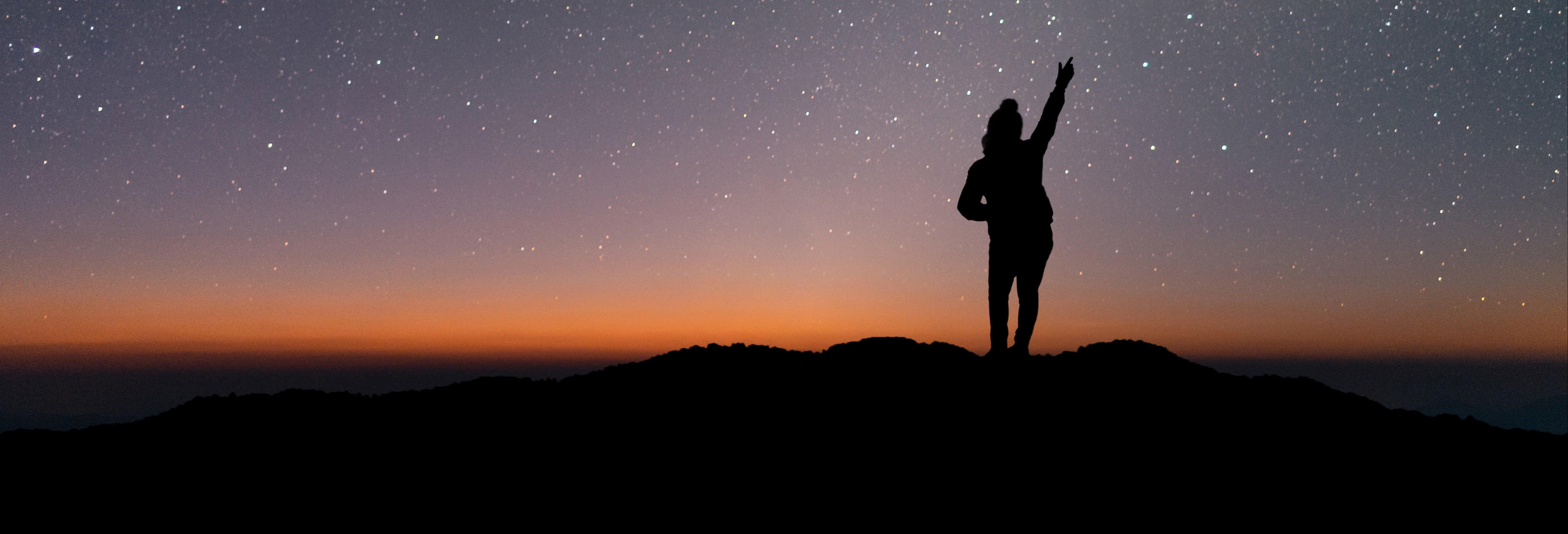 Trekking nocturno por el cerro La Banderita