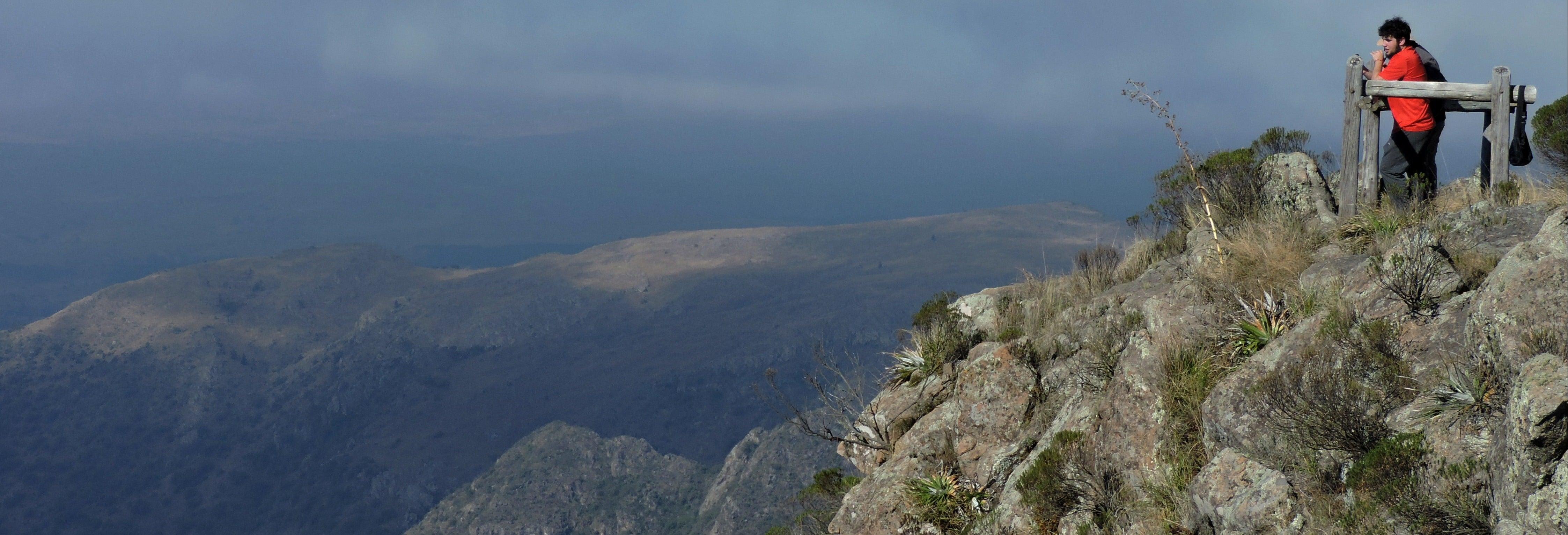 Trekking por el Parque Nacional Quebrada del Condorito