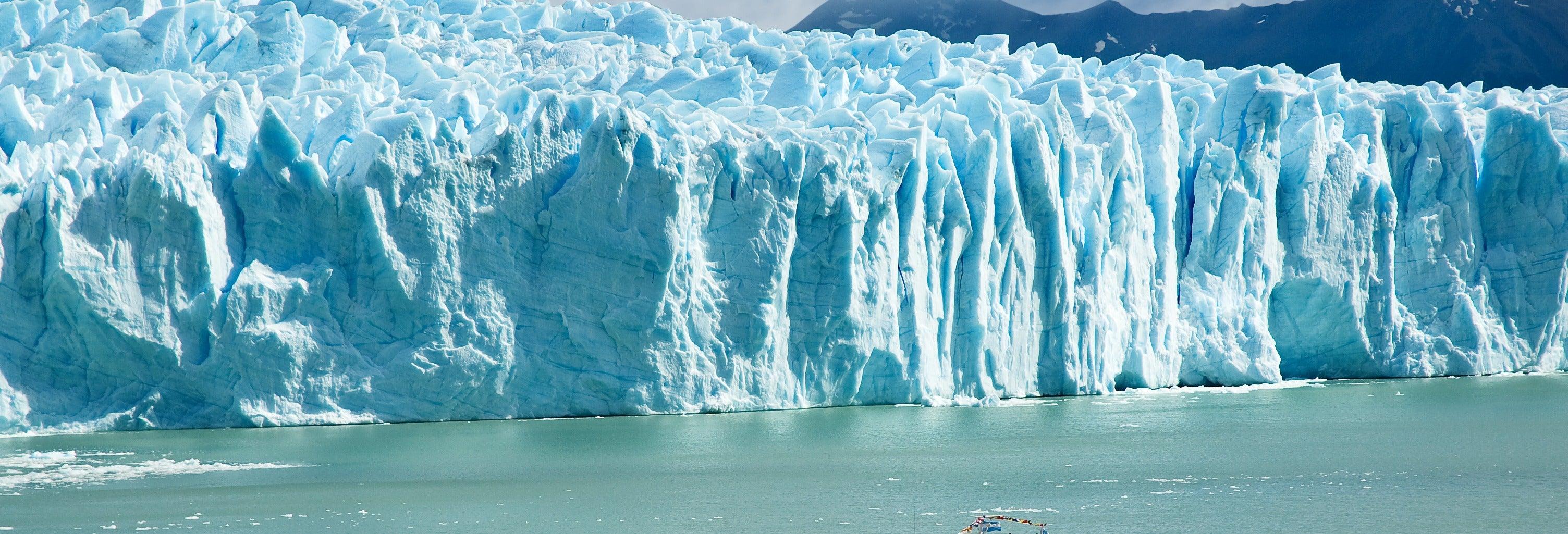 Paseo en barco por el Glaciar Perito Moreno