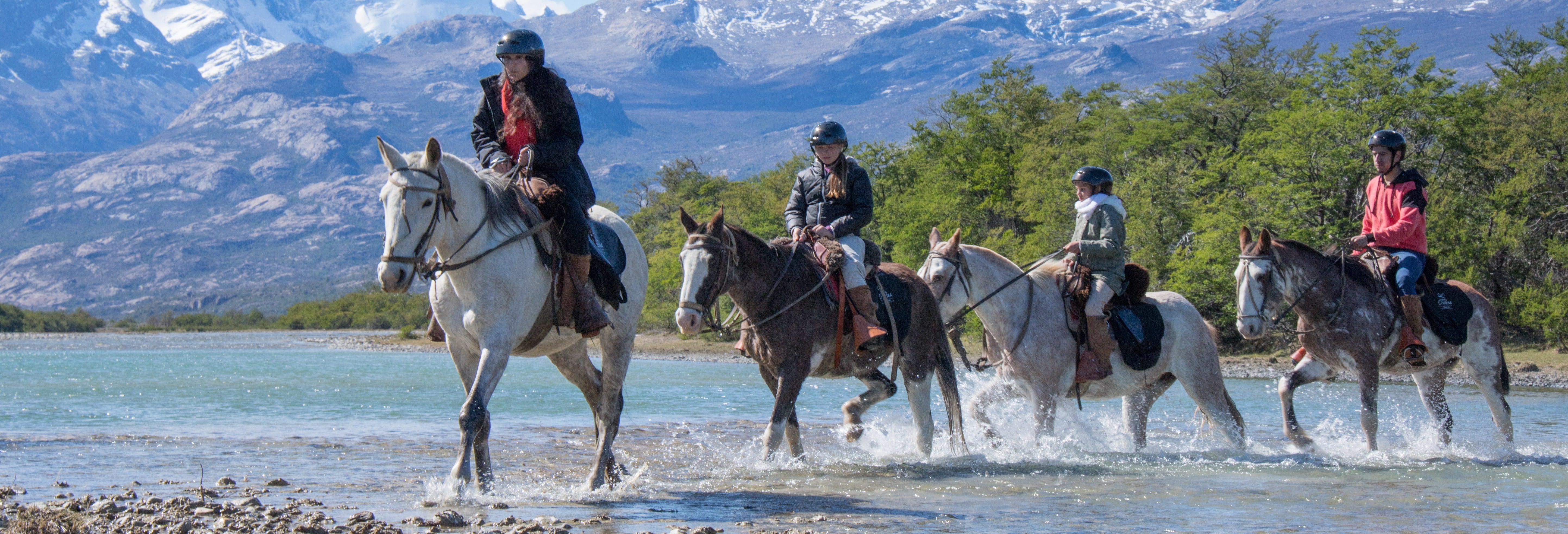 Balade à cheval à Estancia Cristina