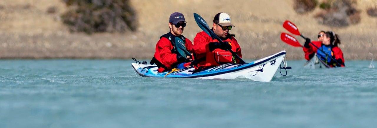 Tour del fiume Santa Cruz in kayak
