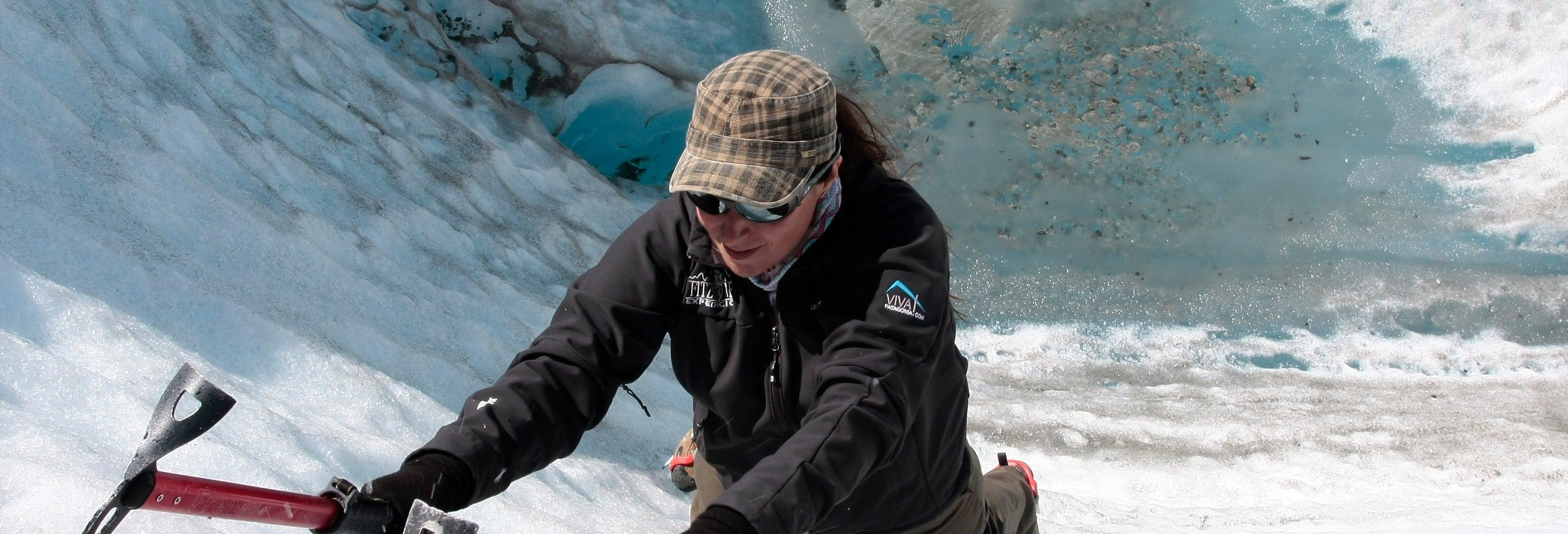 Curso privado de escalada no gelo de 2 ou 3 dias