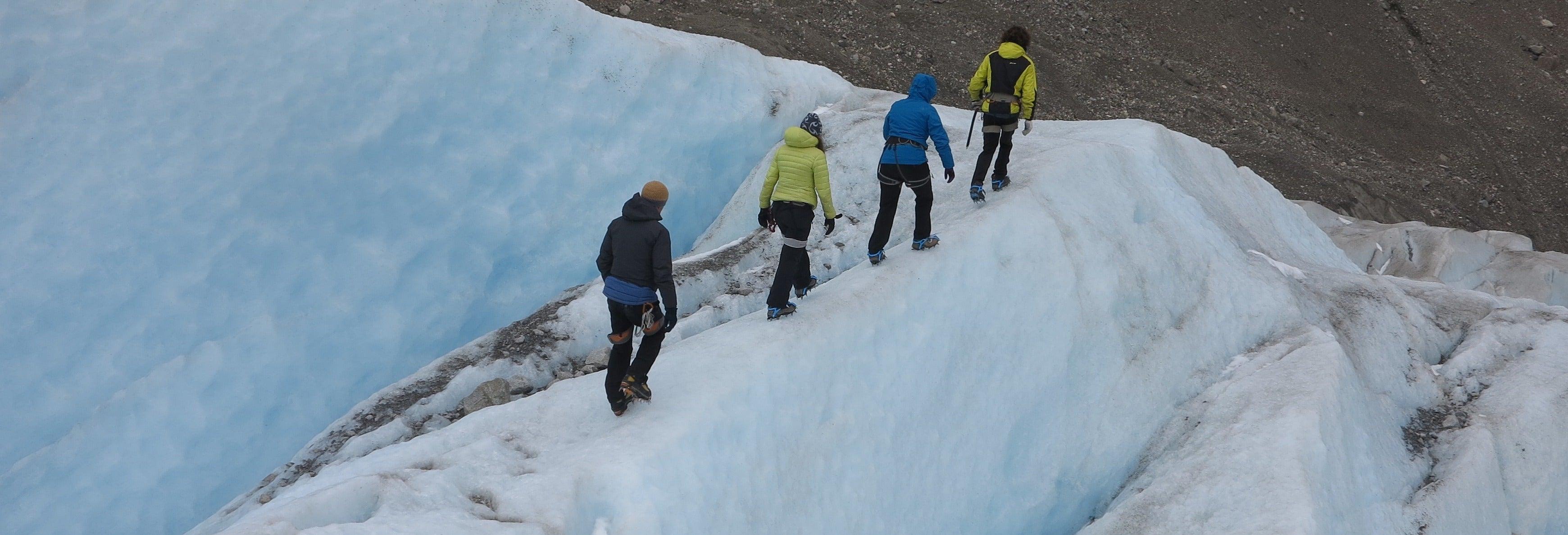 Trilha privada de 2 dias pelo glaciar Cagliero