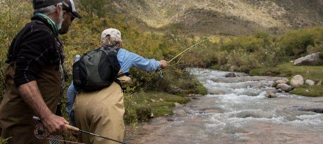 Excursão de pesca pela província de Mendoza