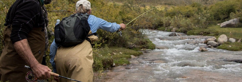 Excursión de pesca por la provincia de Mendoza