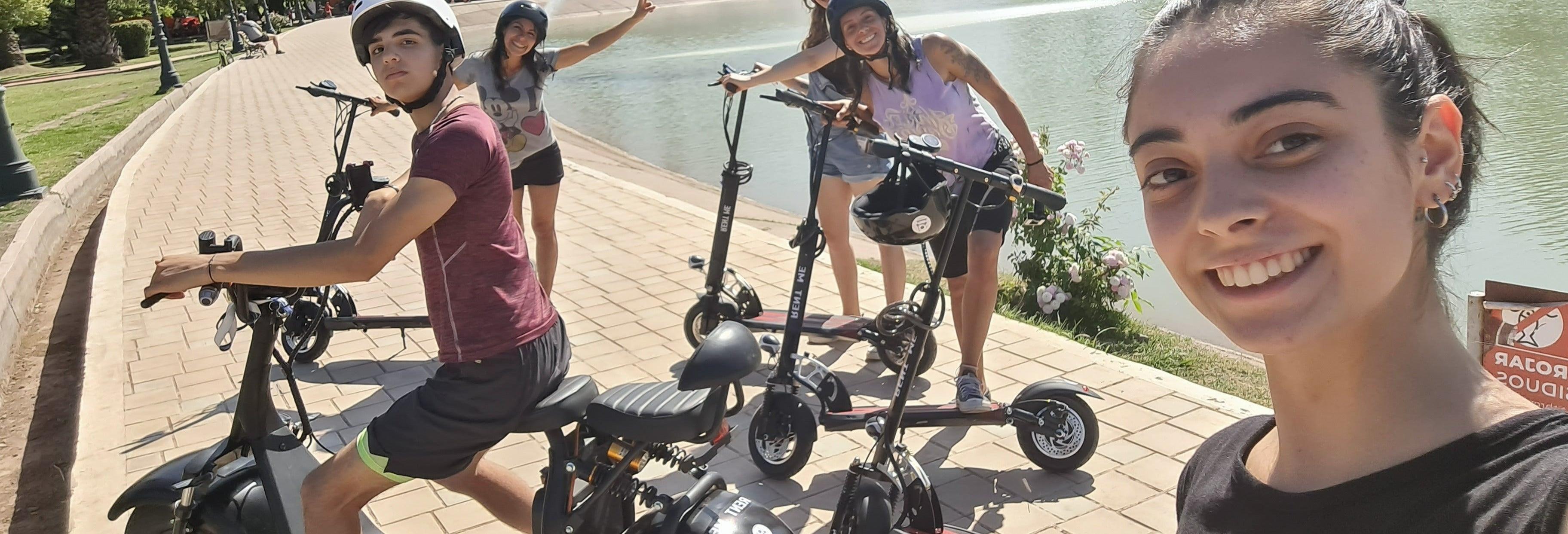 Tour de patinete elétrico por Mendoza