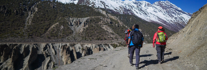Trekking al campamento Las Veguitas del Cordón del Plata