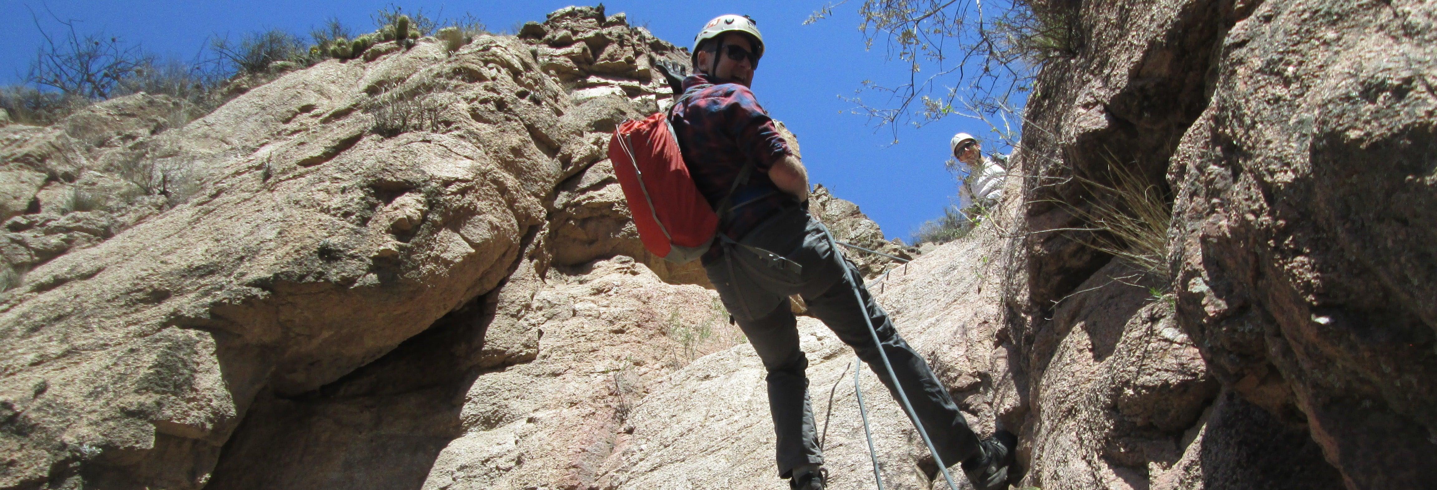 Trekking y rápel en Cacheuta + Aguas termales