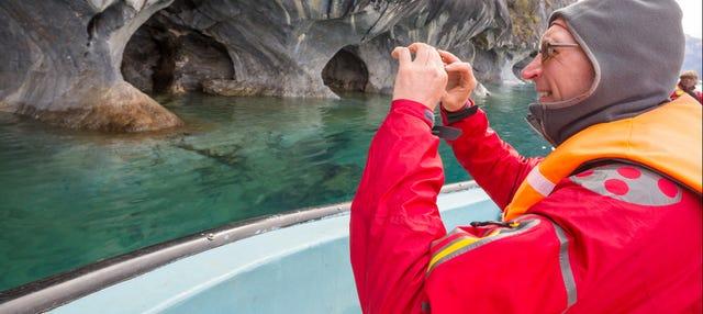 Barco o kayak por las capillas y catedral de mármol