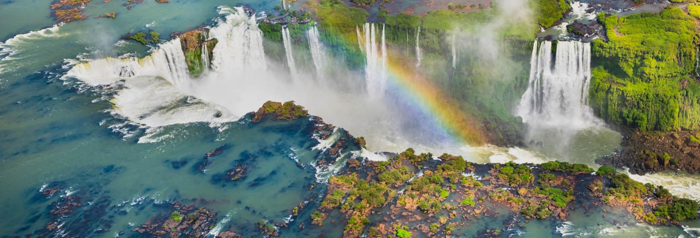 Giro in elicottero alle Cascate di Iguazú