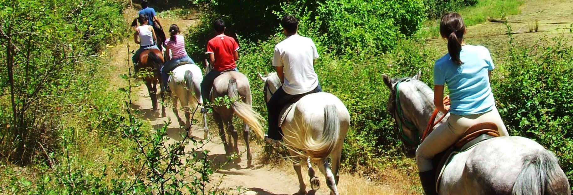 Paseo a caballo por la Reserva Natural de San Lorenzo