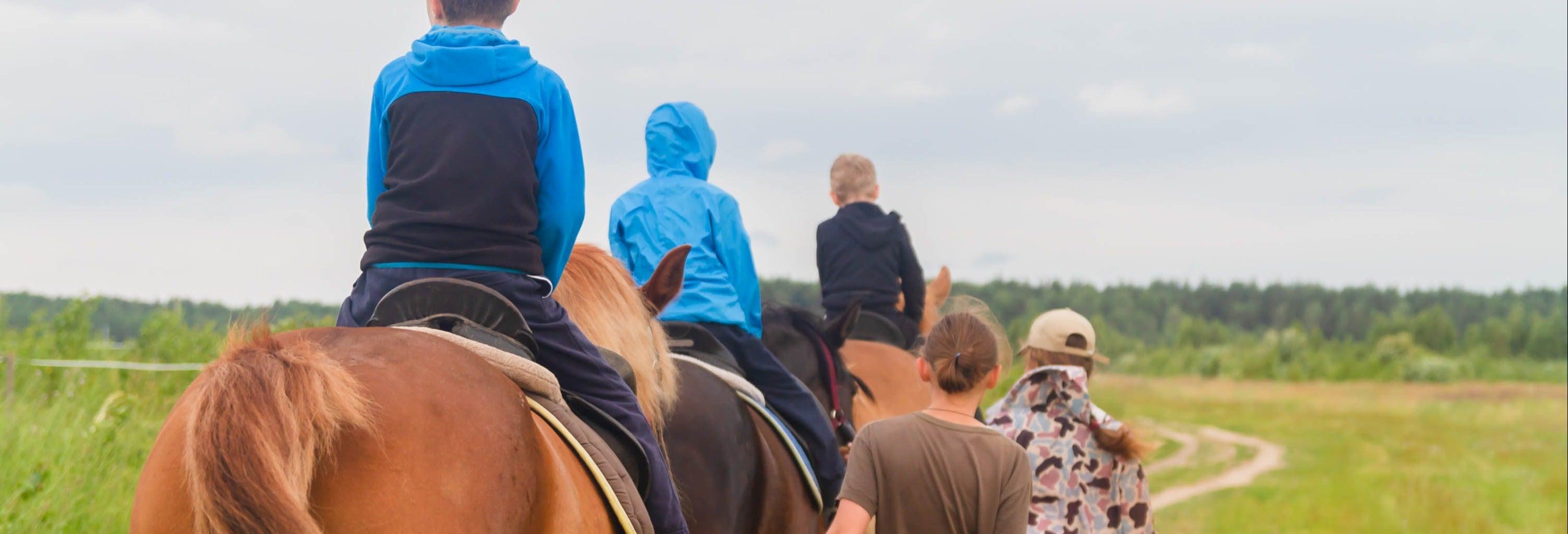 Tour de bicicleta e passeio a cavalo + Churrasco argentino