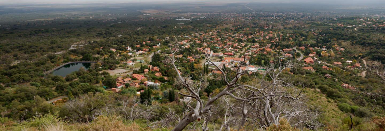 Excursão a Villa de Merlo e La Toma