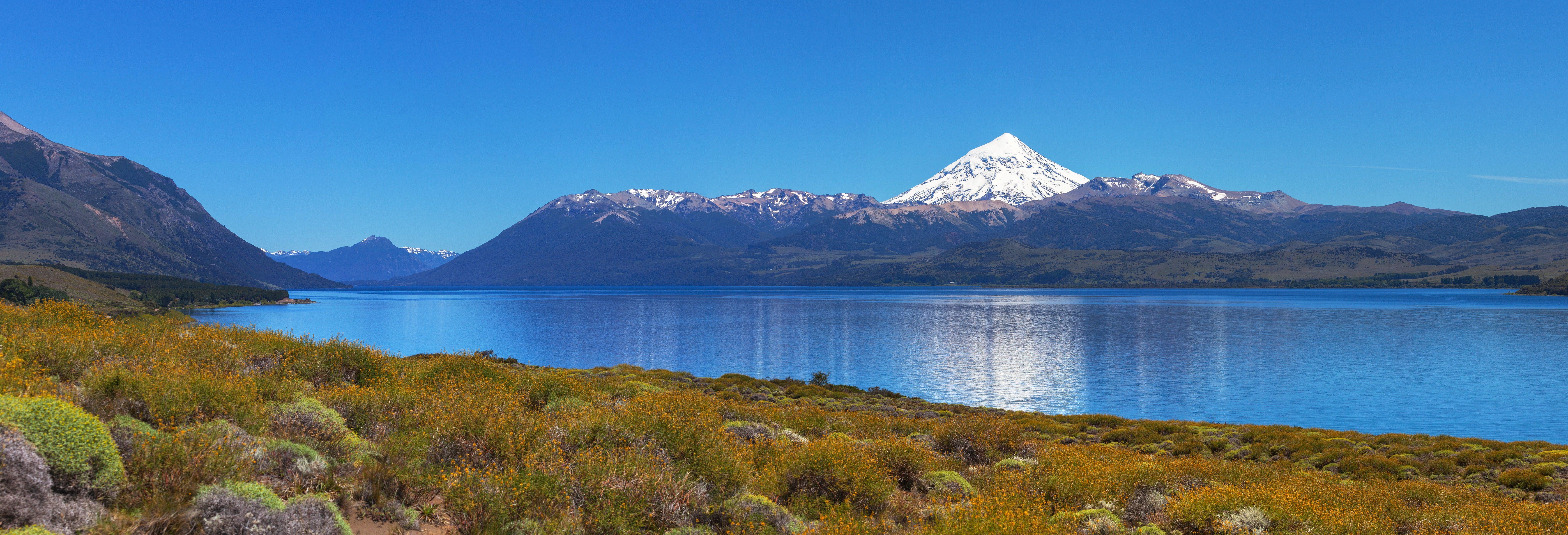 Excursión al Lago Huechulafquen y Volcán Lanín