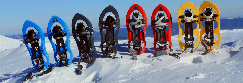 Paseo con raquetas de nieve por el Valle Escondido