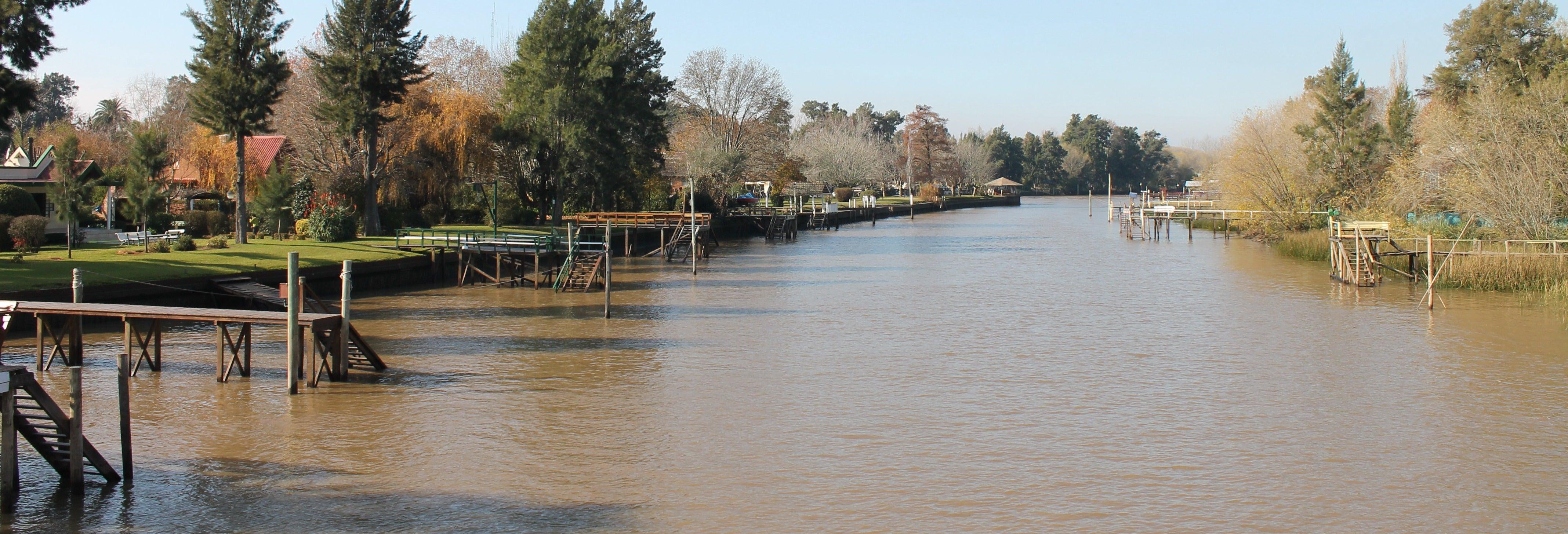 Catamarán por los 6 ríos del delta del Paraná