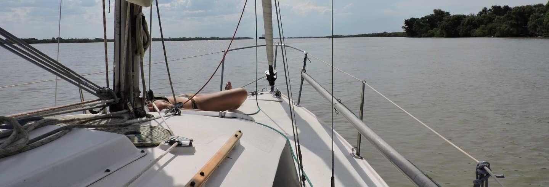 Paseo en velero por el Río de la Plata