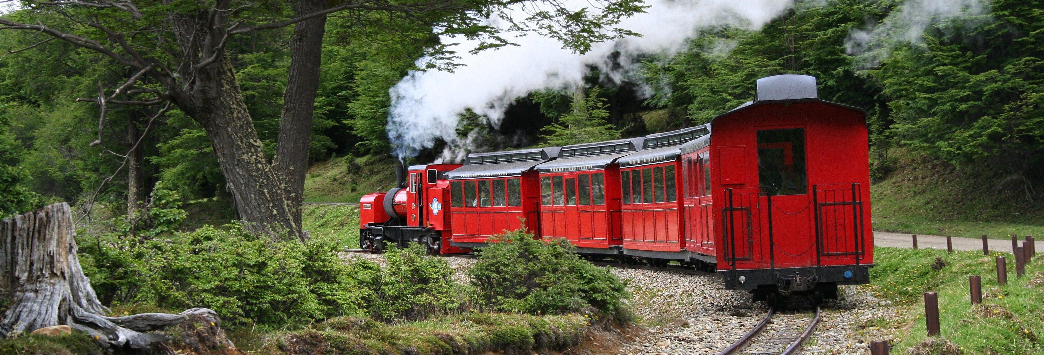 Excursão à Terra do Fogo + Trem do Fim do Mundo