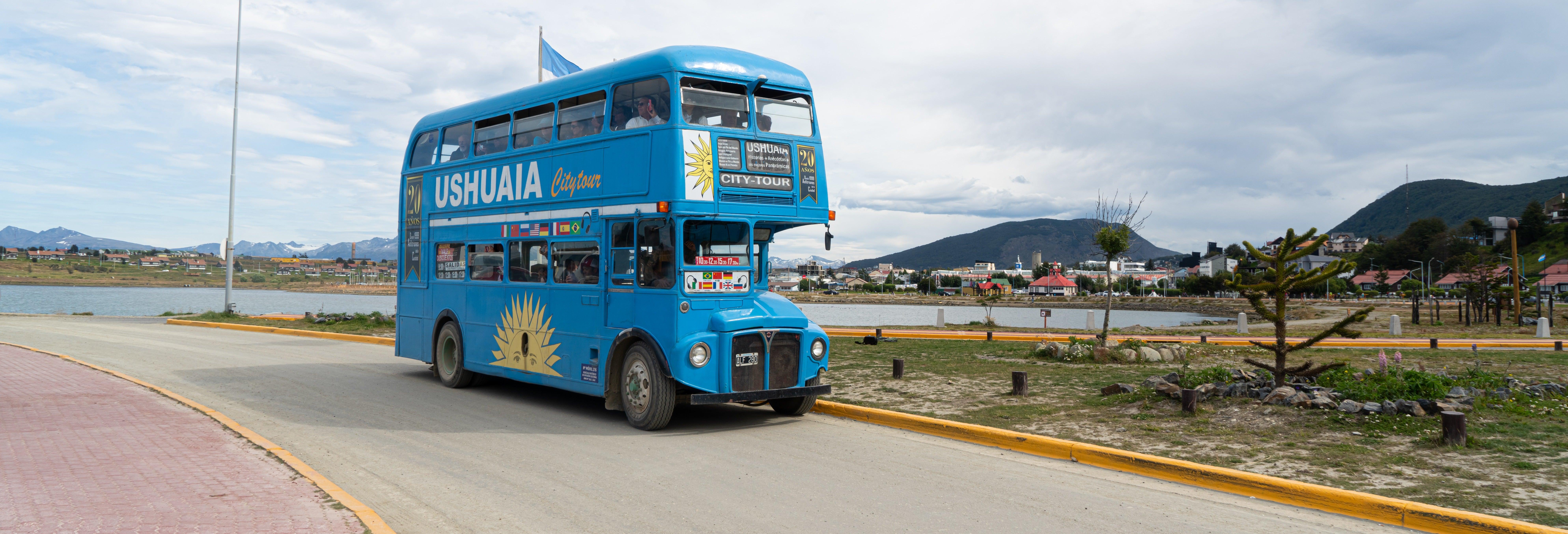 Visite panoramique dans Ushuaïa