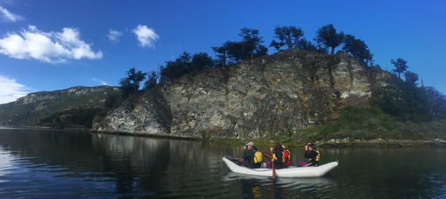 Trekking y canoas en Tierra del Fuego