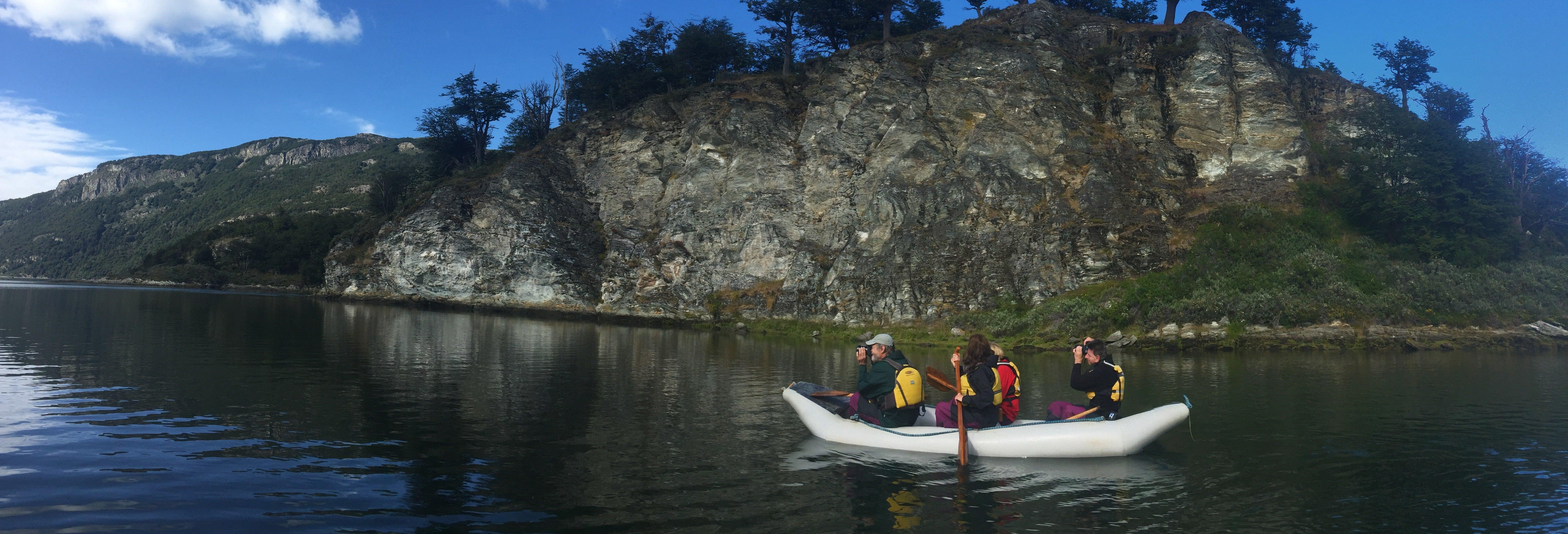 Trekking e canoa nella Terra del Fuoco