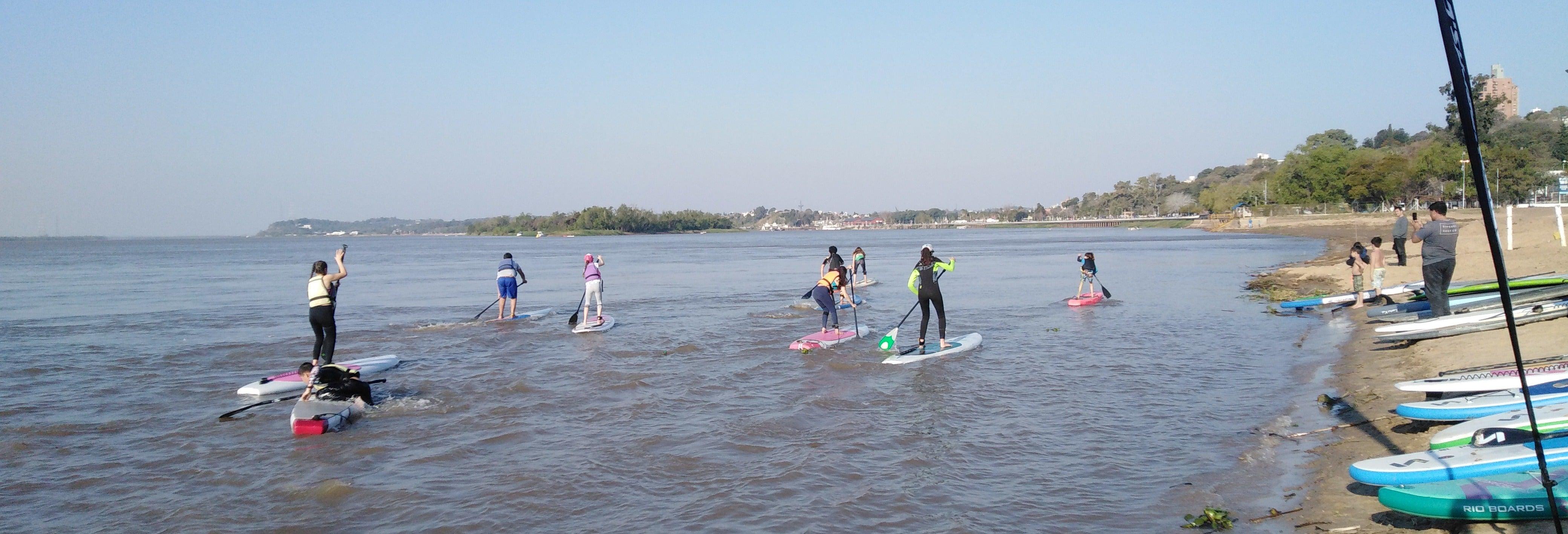 Snorkel y paddle surf en el Dique Punta Negra
