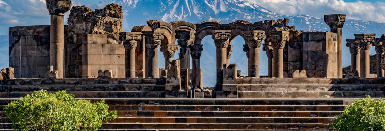 Excursão a Echmiadzin, Khor Virap e Zvartnots