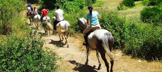 Balade à cheval dans le nord d'Aruba