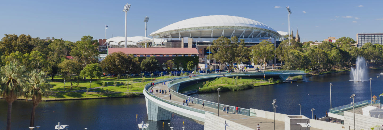 Visite du Stade Adelaide Oval