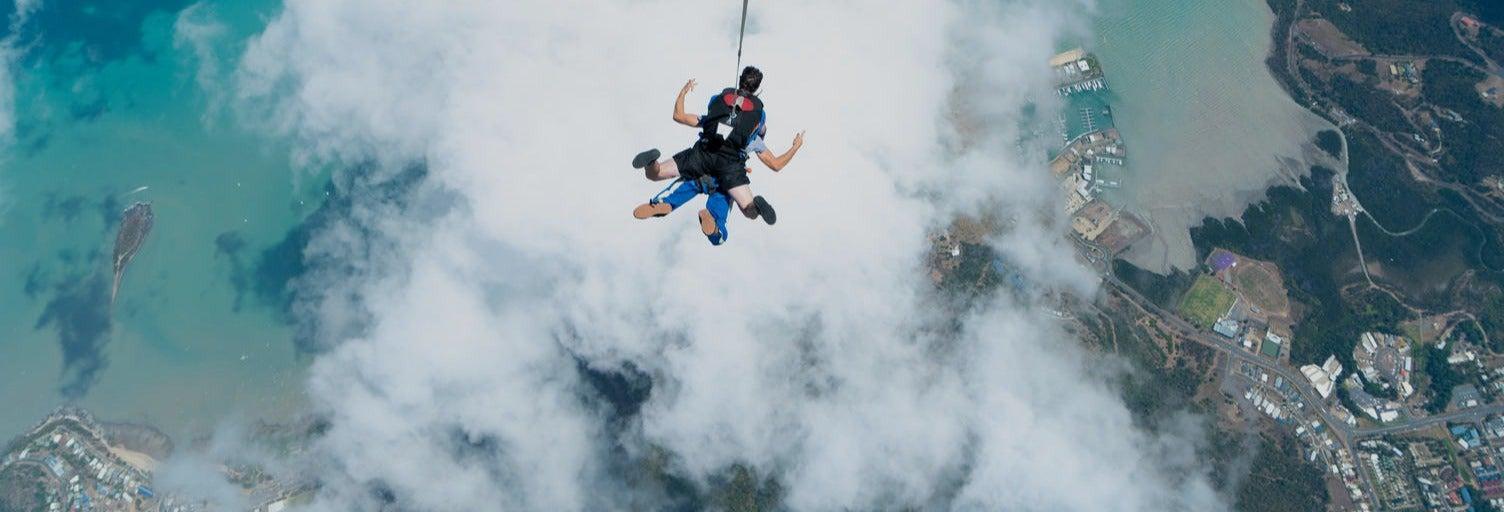 Salto en paracaídas en Airlie Beach