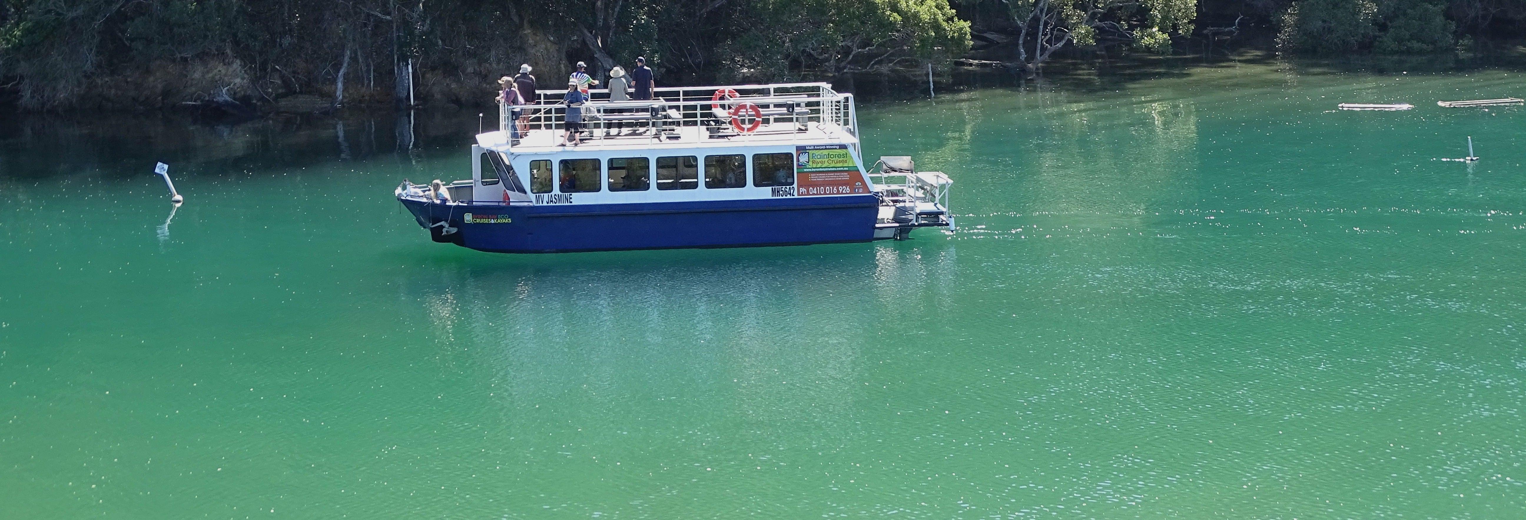 Paseo en barco por el río Brunswick