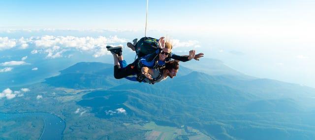 Salto en paracaídas en Cairns