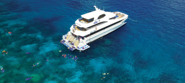 Snorkel en la Gran Barrera de Coral + Paseo en helicóptero